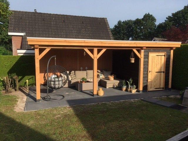 Douglas berging met veranda Apeldoorn 892