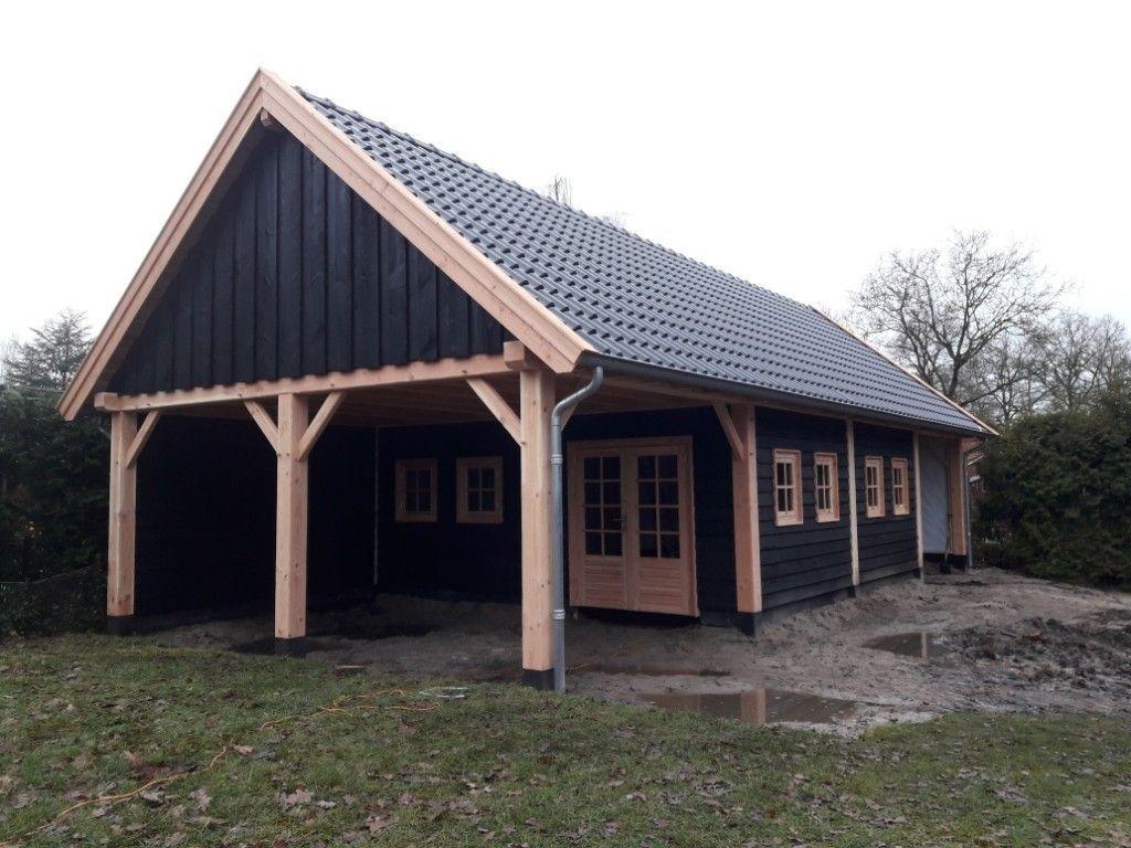 Douglas schuur met veranda Ederveen 540