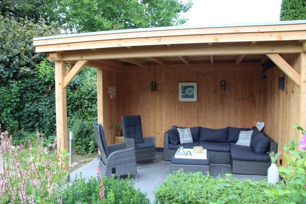 Douglas schuur met veranda Aerdenhout 877