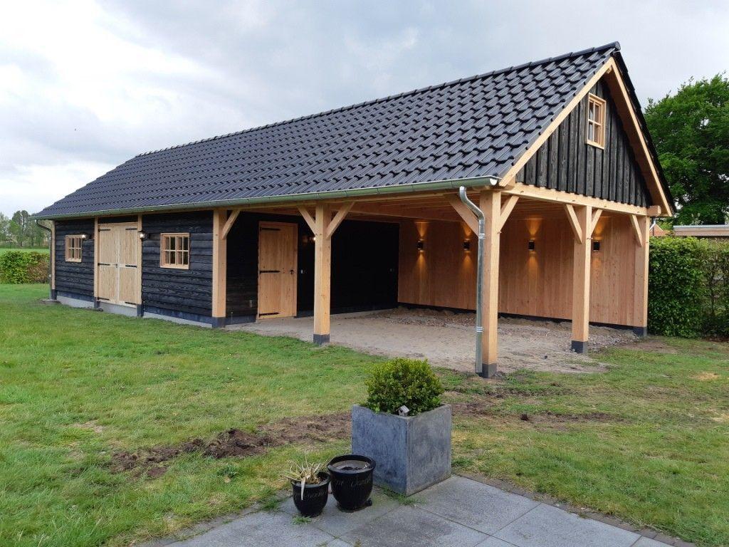 Douglas Schuur met Carport Texel 553