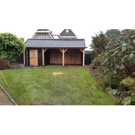 Douglas berging met veranda Tuis Ter Heide 578
