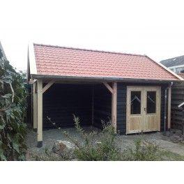 Douglas schuur met veranda Ridderkerk 523