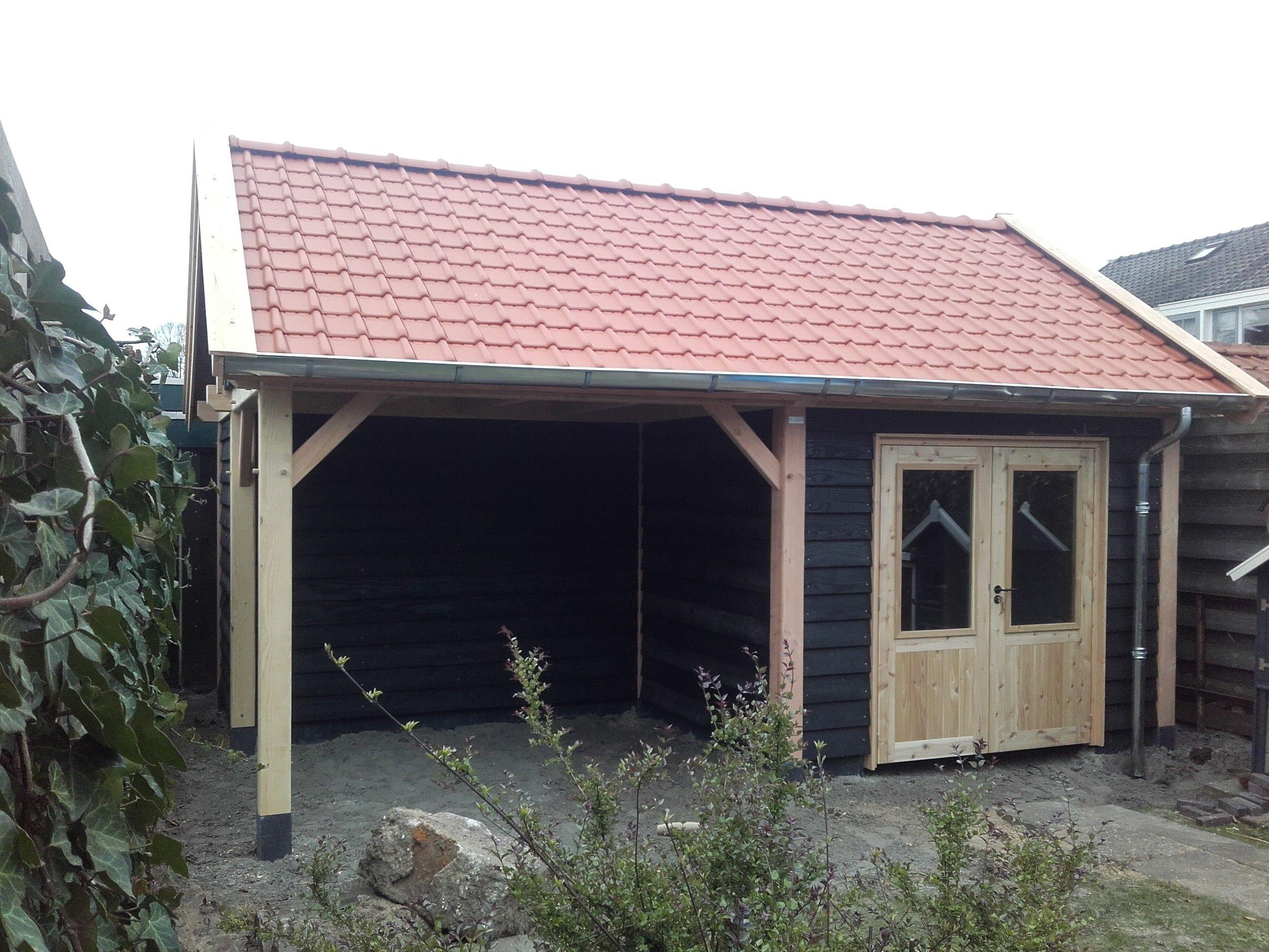 Veranda Met Schuur : Houtbouw op maat douglas schuur met veranda ridderkerk direct